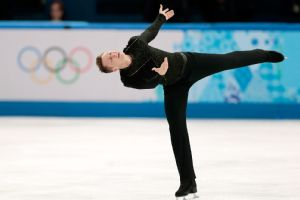 A battered and sore Jeremy Abbott ended his Sochi Olympics with his free skate performance.