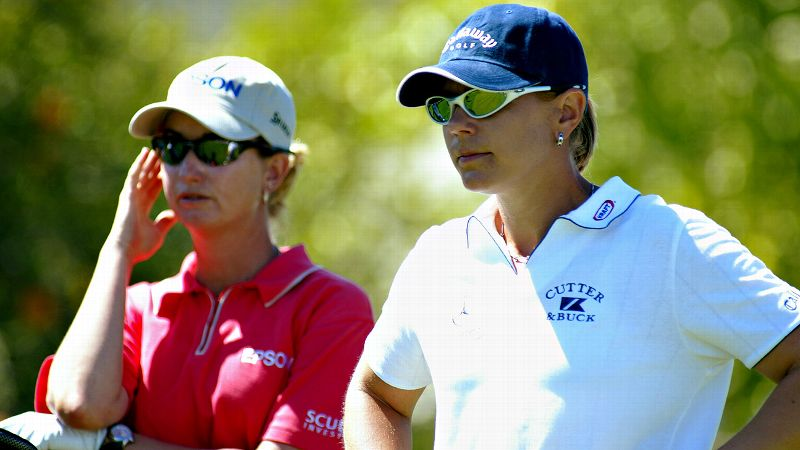 In the late 1990s and early years of this century, Annika Sorenstam and Karrie Webb dominated the LPGA as they battled for tournament wins, the No. 1 ranking and a slew of awards, records and honors. In 2000, Webb ruled the tour, winning seven tournaments, including two majors. Sorenstam responded in 2001 with eight titles, including a major. Although Webb never reached Sorenstam's level again, it remains one of golf's most legendary rivalries. Sorenstam retired in 2008 with 72 career titles. Webb won her 40th career title last week. (Photo: Scott Halleran/Getty Images)