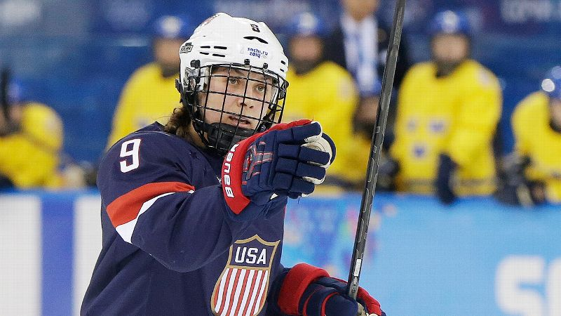 The defenseman wasted no time doing her part to send Team USA to the gold-medal game. With assists on the United States' first two goals and a goal of her own in the second period, Megan Bozek helped the Americans post a 6-1 win over Sweden in the semifinals. Now just one question remains: Will it be gold or silver for Team USA? Three-time defending champion Canada stands in the way. i(Photo: AP)/i