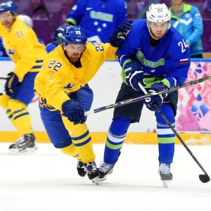 Swede Daniel Sedin says the big ice, quite contrary to what people believe, actually hinders offensive production, which could be to his team's advantage.