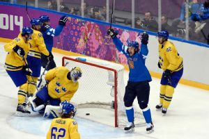 The Finns played valiant hockey throughout the tournament, but once again, their gold-medal quest ends short.