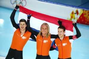 The Netherlands' speedskating dominance continued as they claimed gold in the final two events.