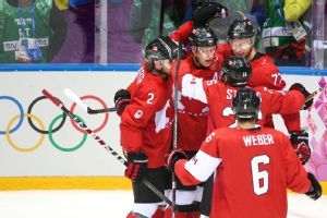 Canada defended their gold medal with a dominating win over Sweden.