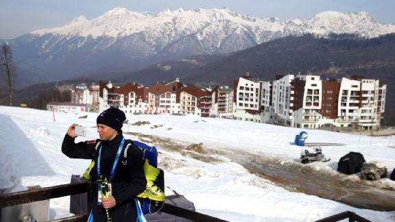 Officials hope travelers will return to the Krasnaya Polyana mountain area for its ski resorts.