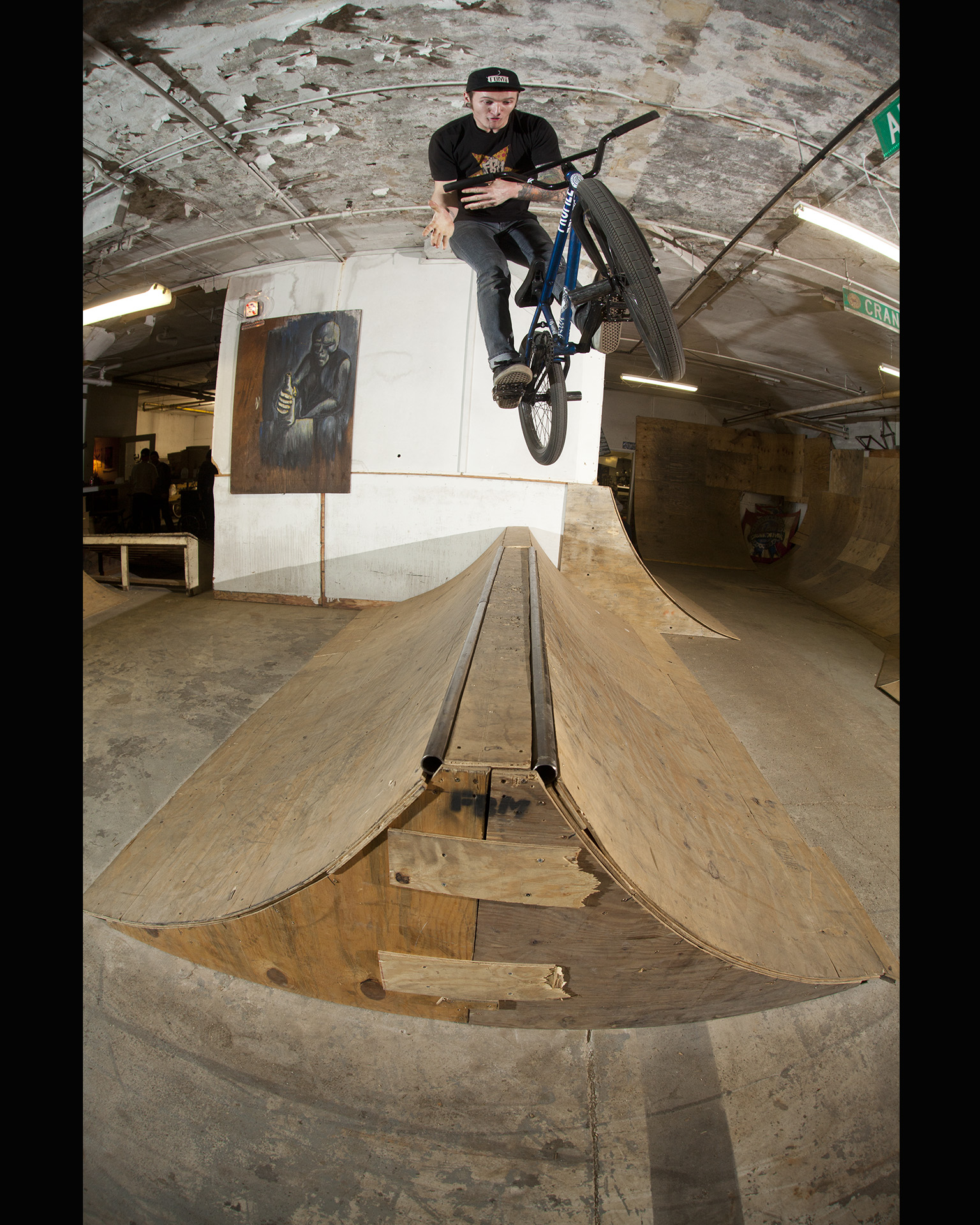 Dillon Leeper, 180 barspin