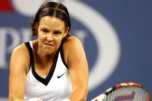 Lindsay Davenport won three Grand Slam titles en route to the Hall of Fame.