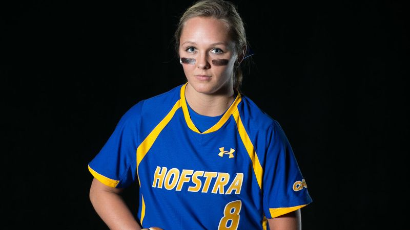 Morgan Lashley won 62 games in her two seasons at Army, and she is already 6-0 this year for Hofstra.