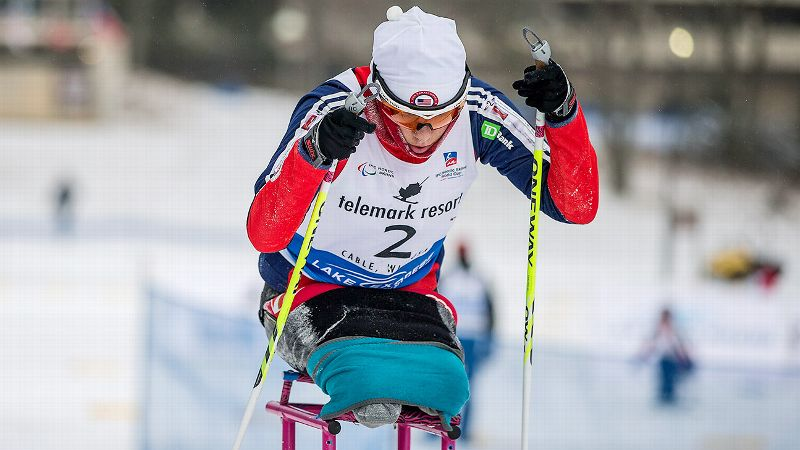 Though she's only been training for para-skiing for a year, Oksana Masters won bronze medals in two World Cups in the sit-ski cross-country competition, and came in first the U.S. Paralympic Cross Country National Championships.