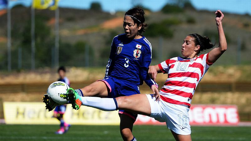 The U.S. women's soccer team placed a disappointing seventh at the 2014 Algarve Cup, and lost back-to-back matches for the first time in more than a decade.