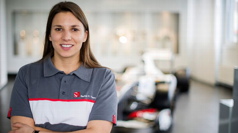 Simona de Silvestro will be an affiliated driver with Sauber F1 Team in 2014, with an eye on getting a seat in 2015.