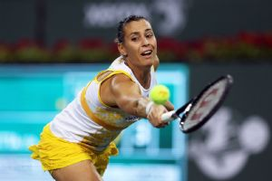 Flavia Pennetta is enjoying a sweet little renaissance this week at Indian Wells.