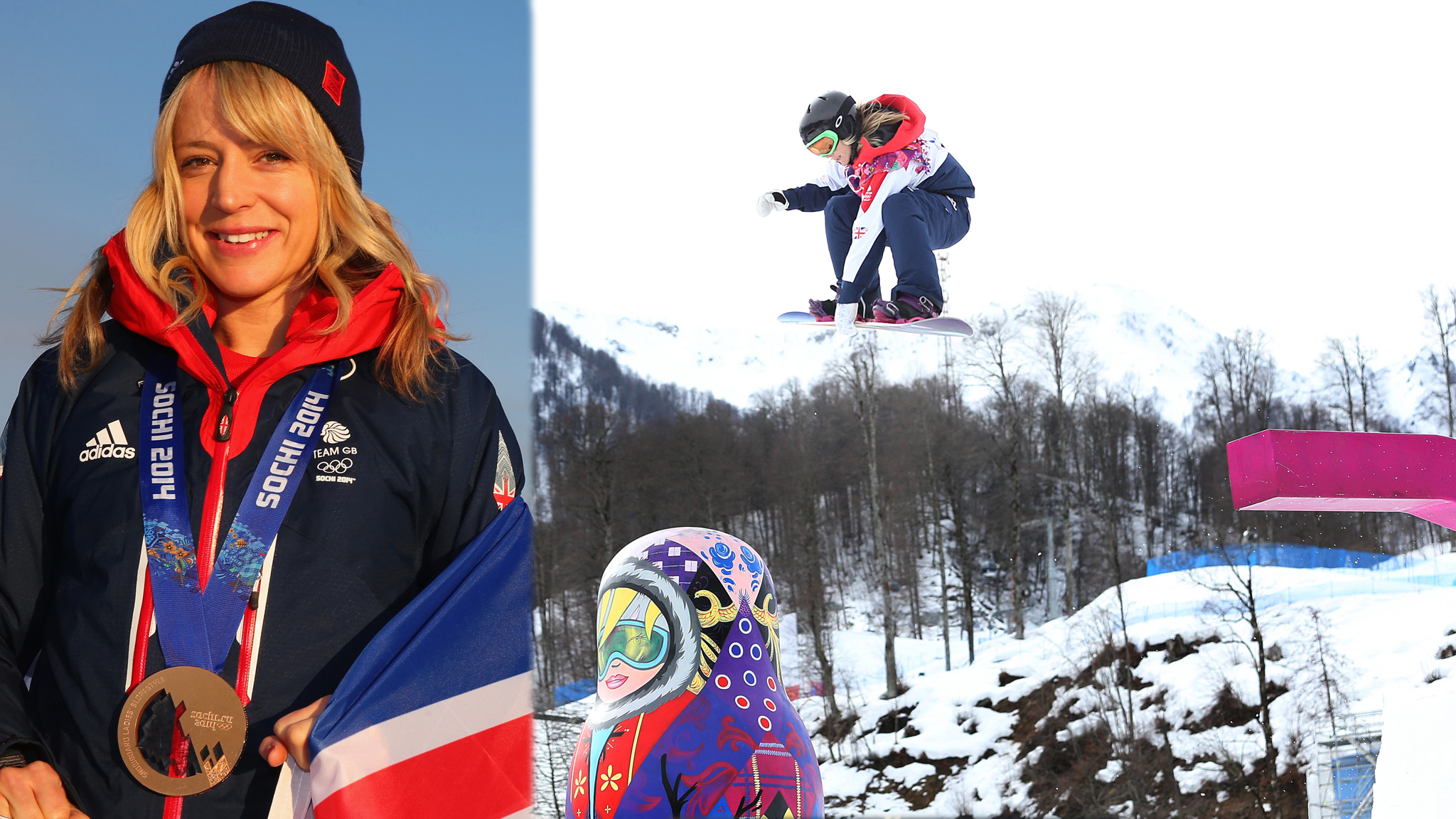 Great Britain's first-ever Winter Olympic medal came from slopestyle's first-ever inclusion in the Winter Games.