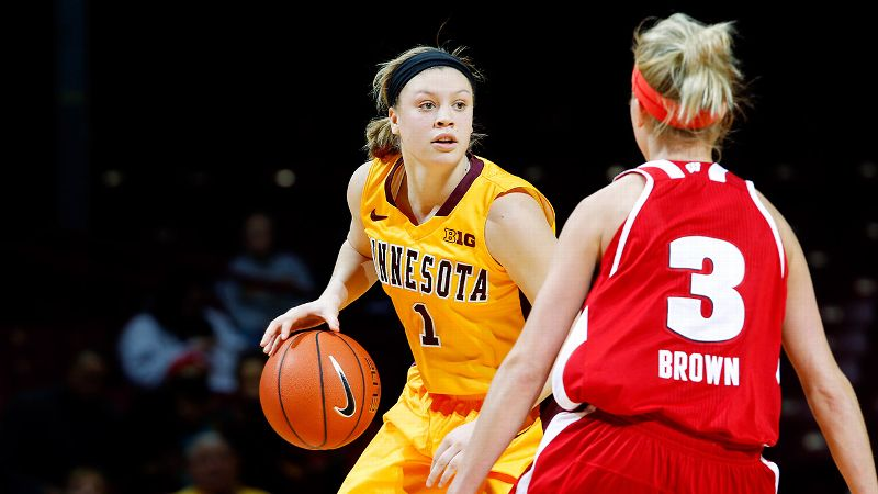 Minnesota opened WNIT play with a win over Green Bay on Wednesday, and Rachel Banham set the Gophers' single-season scoring mark.