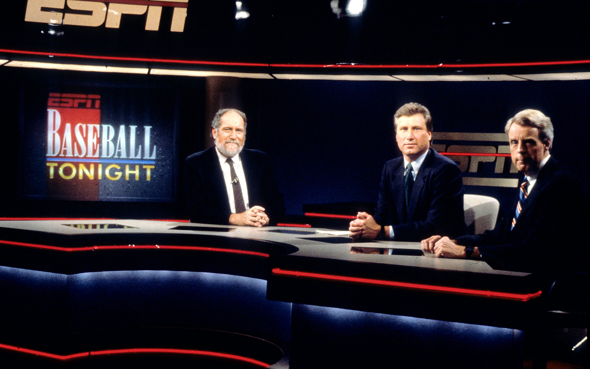 1990: Dave Marash, Ray Knight & Peter Gammons
