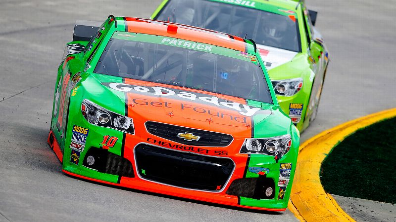 Danica Patrick finished 12th and 17th in two trips to Martinsville last year but couldn't get anything going Sunday.