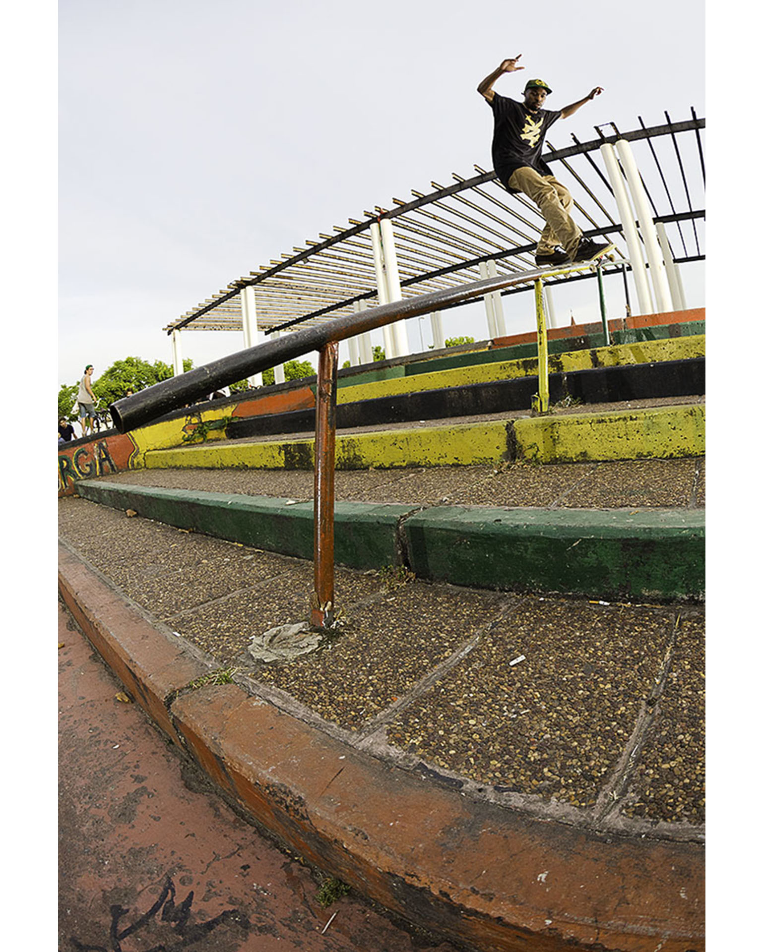 F/S feeble from Travis Glover.