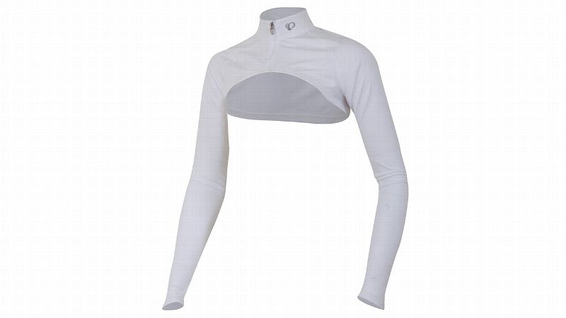 Springtime temperatures can be fickle. Long-sleeve or short-sleeve -- what to wear? This shrug gives you options with a stylish flare. Wear it over a tank top for an extra layer at the start of your run. Keep it on for an extra layer of sun protection.