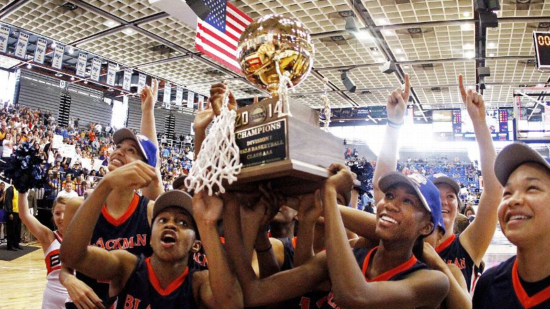 When the Blackman girls' basketball team hoisted the state championship trophy last month, it was the school's first state title in any sport.