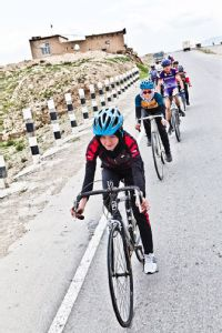 Cyclists in the Afghanistan National Cycling Federation are expected to furnish their own bike and equipment, and commit to twice-weekly training rides.