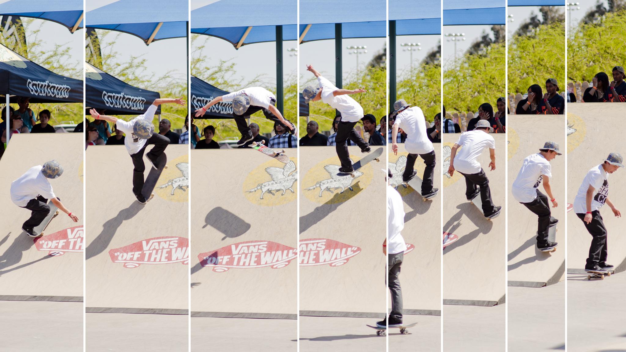 Chase Webb, B/S 360 kickflip