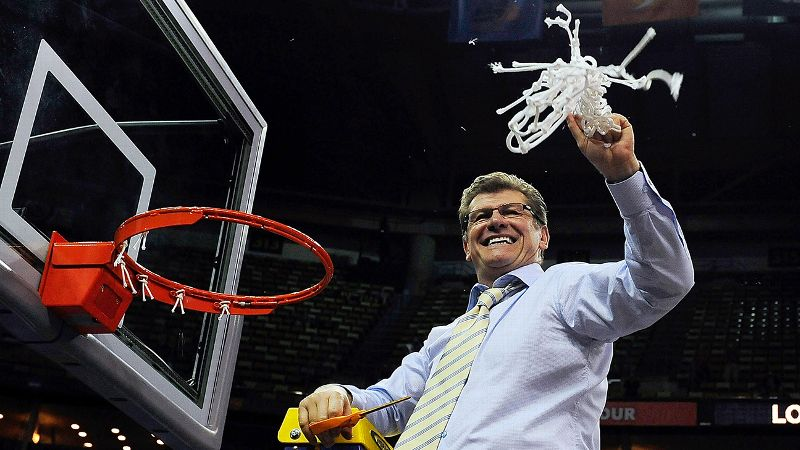 Geno Auriemma and the Connecticut Huskies cut down the NCAA championship nets a record-setting ninth time on Tuesday night. We turn back the clock and salute all nine of Connecticut's women's basketball championship teams.