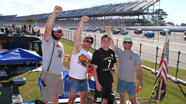 Good friends, good times and good memories in the infield at Talladega Superspeedway.