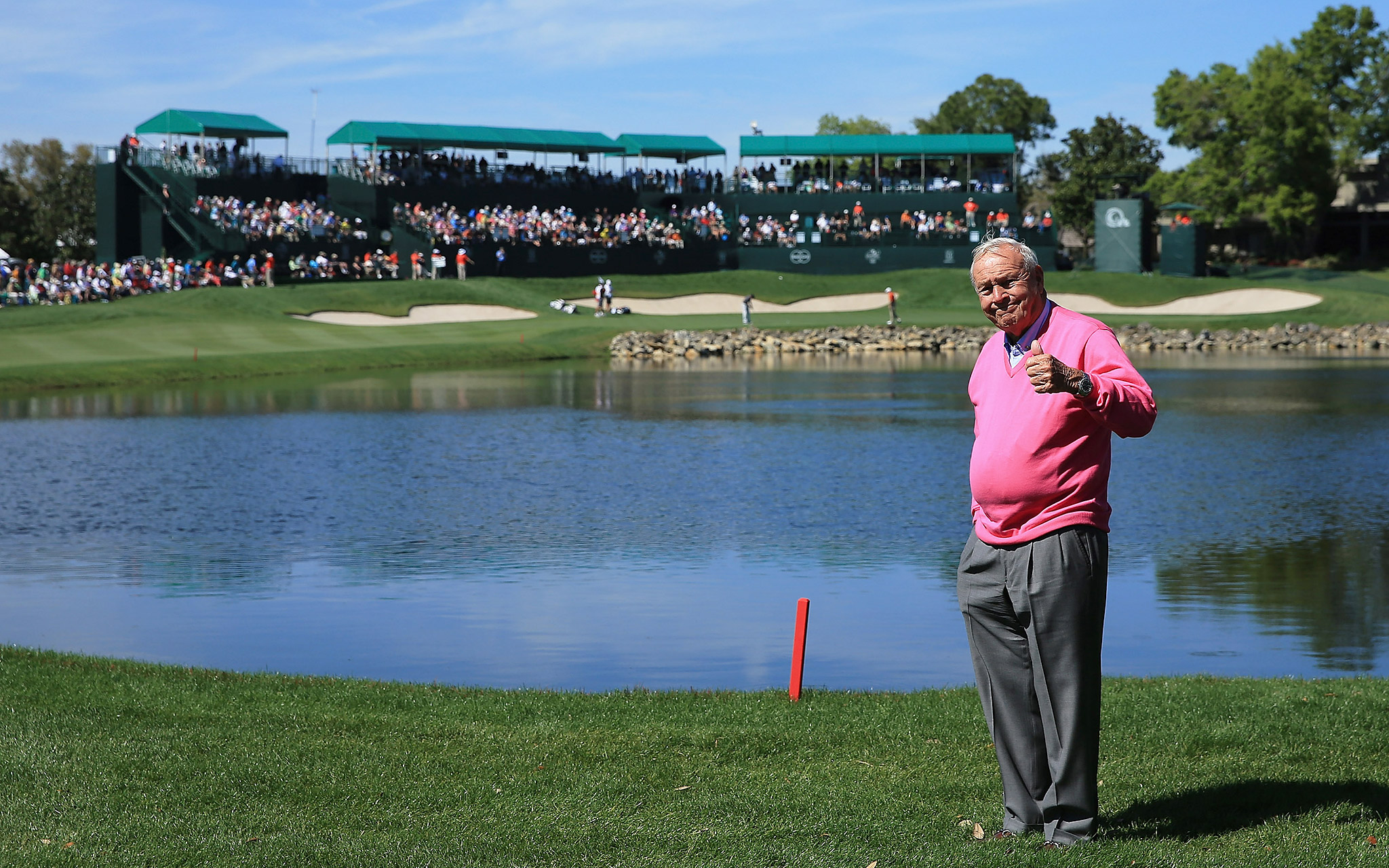 Arnold Palmer at Bay Hill