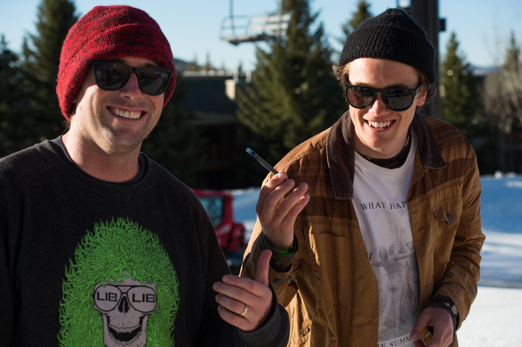 Jesse Burtner, Blake Paul