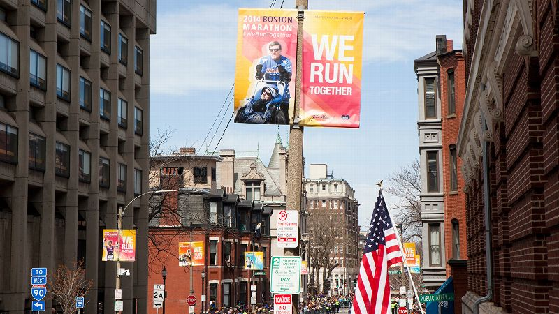 The Boston streets were full of inspiration on Monday, and four participants went the extra mile for a runner in need.