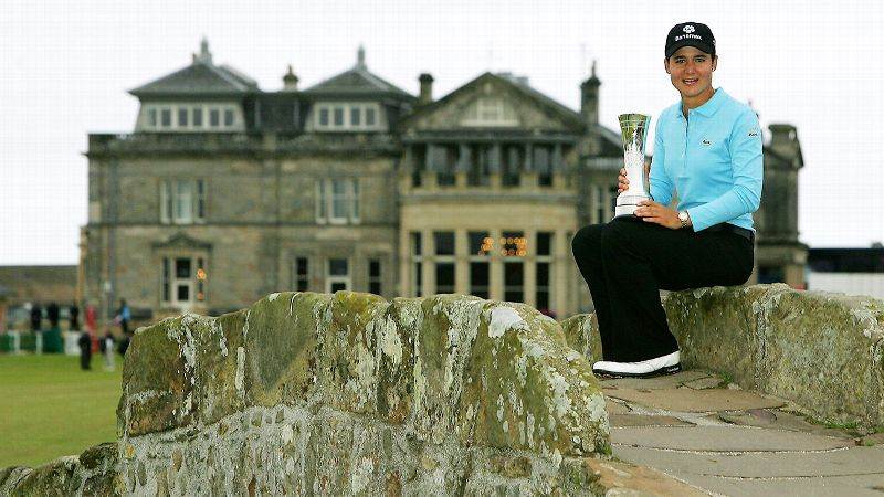 2007: Lorena Ochoa wins British Open