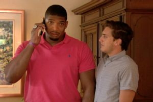 With his boyfriend at his side, Michael Sam received a phone call from the Rams telling him he would be selected with the 249th overall pick.