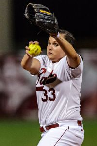 Jaclyn Traina already has one title with Alabama. She and the Tide are after another.