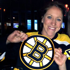 As a Danvers, Mass., native, Meghan Duggan is a die-hard Bruins fan.