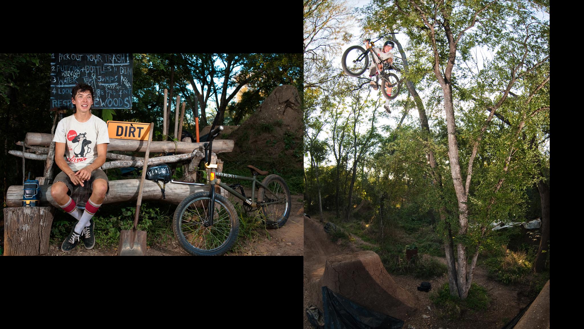 Clint Reynolds, BMX Dirt