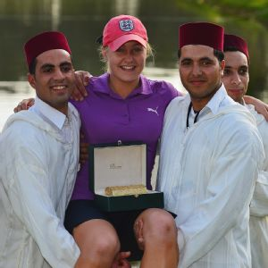 Four days before her 18th birthday in March, Charley Hull won her first pro event, the Lalla Meryem Cup in Morocco.