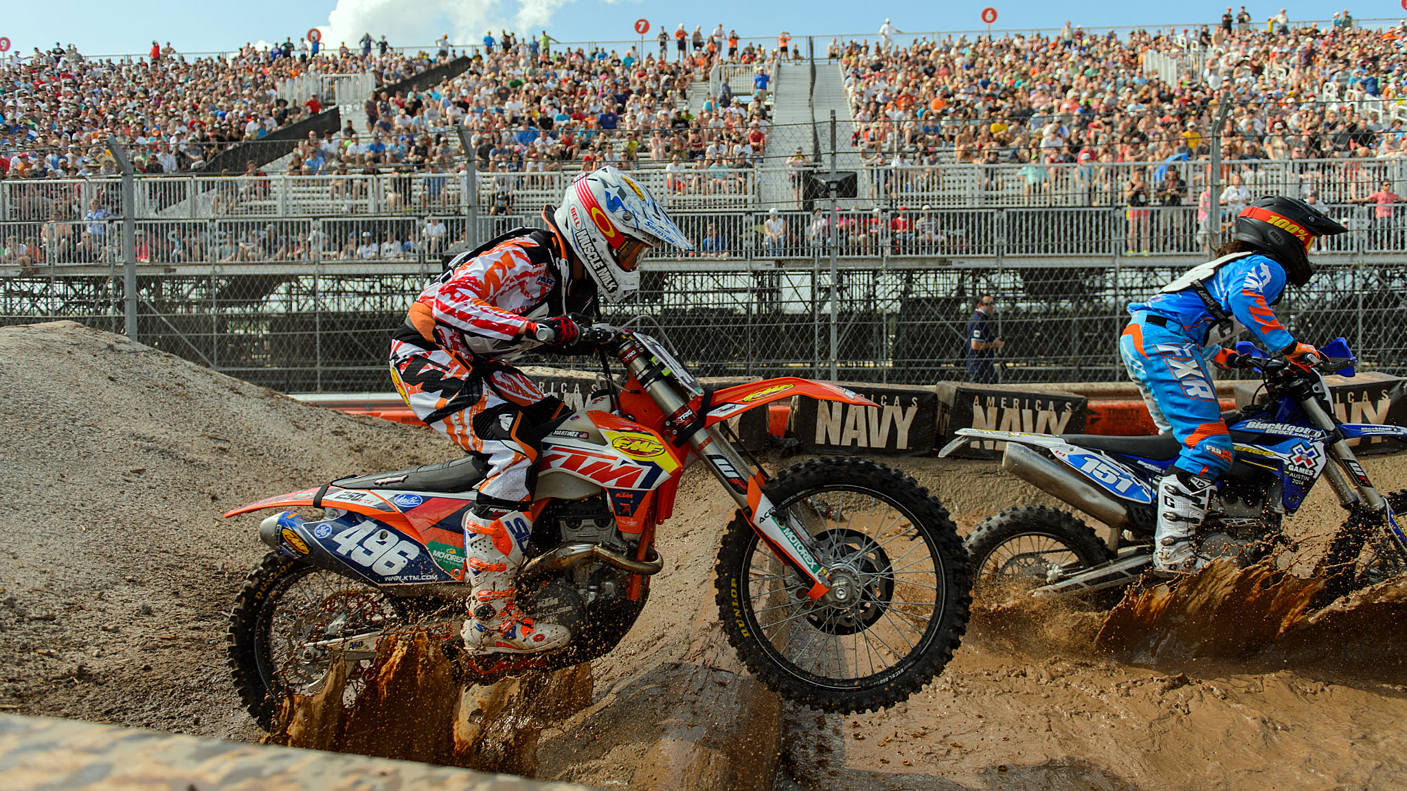 Kacy Martinez won her first X Games gold in Women's Enduro X.