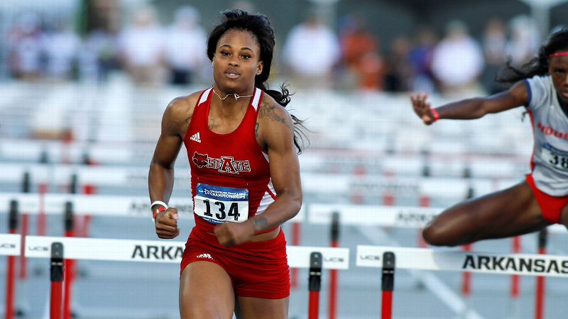 Sharika Nelvis is the reigning indoor 60-meter hurdle national champion, a five-time All-American and the first female in Arkansas State history to win an individual national championship.