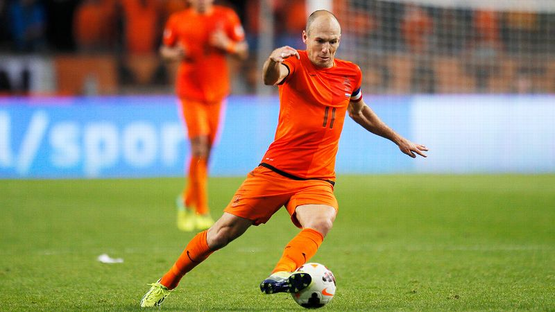 Arjen Robben, Netherlands, forward