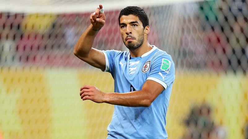 Luis Suarez, Uruguay, forward