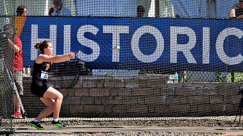 New Zealand native Julia Ratcliffe did Princeton proud by claiming its first women's track and field title with her hammer throw.