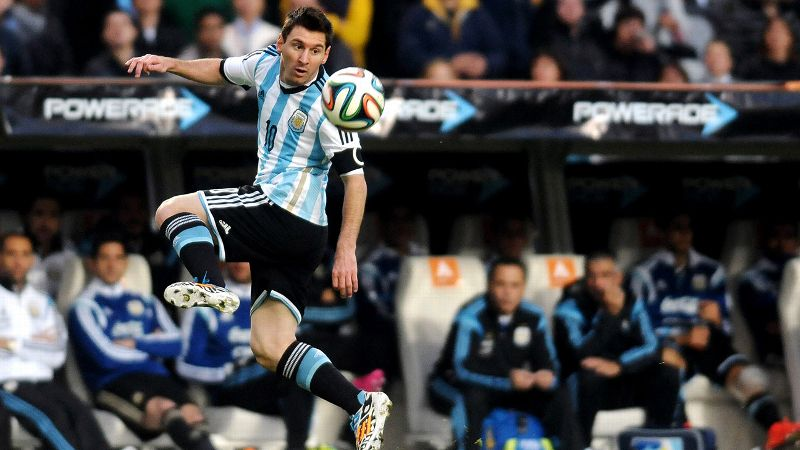 Lionel Messi, Argentina, forward