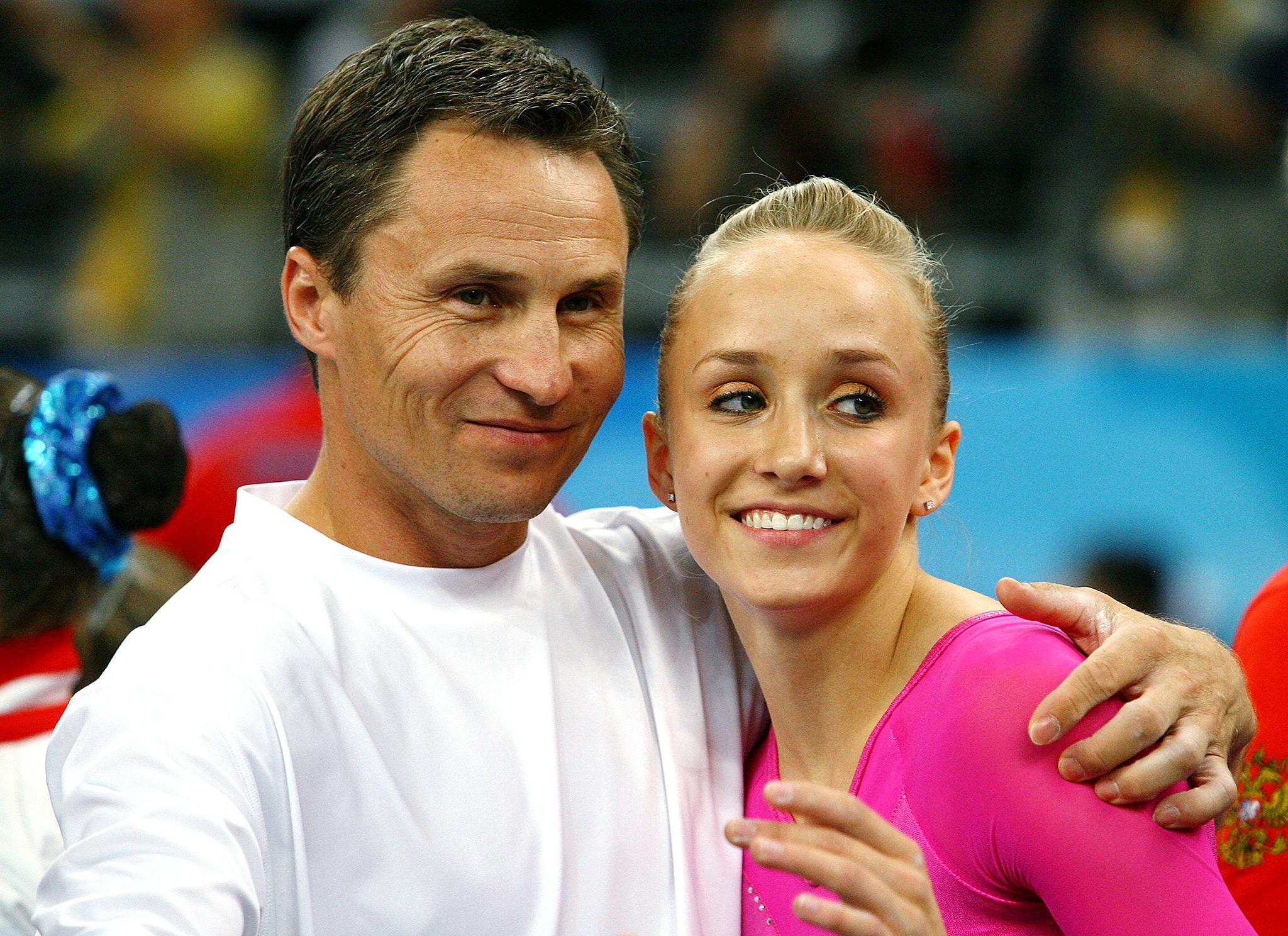 Nastia Liukin, 2008 Olympic gymnastics champion