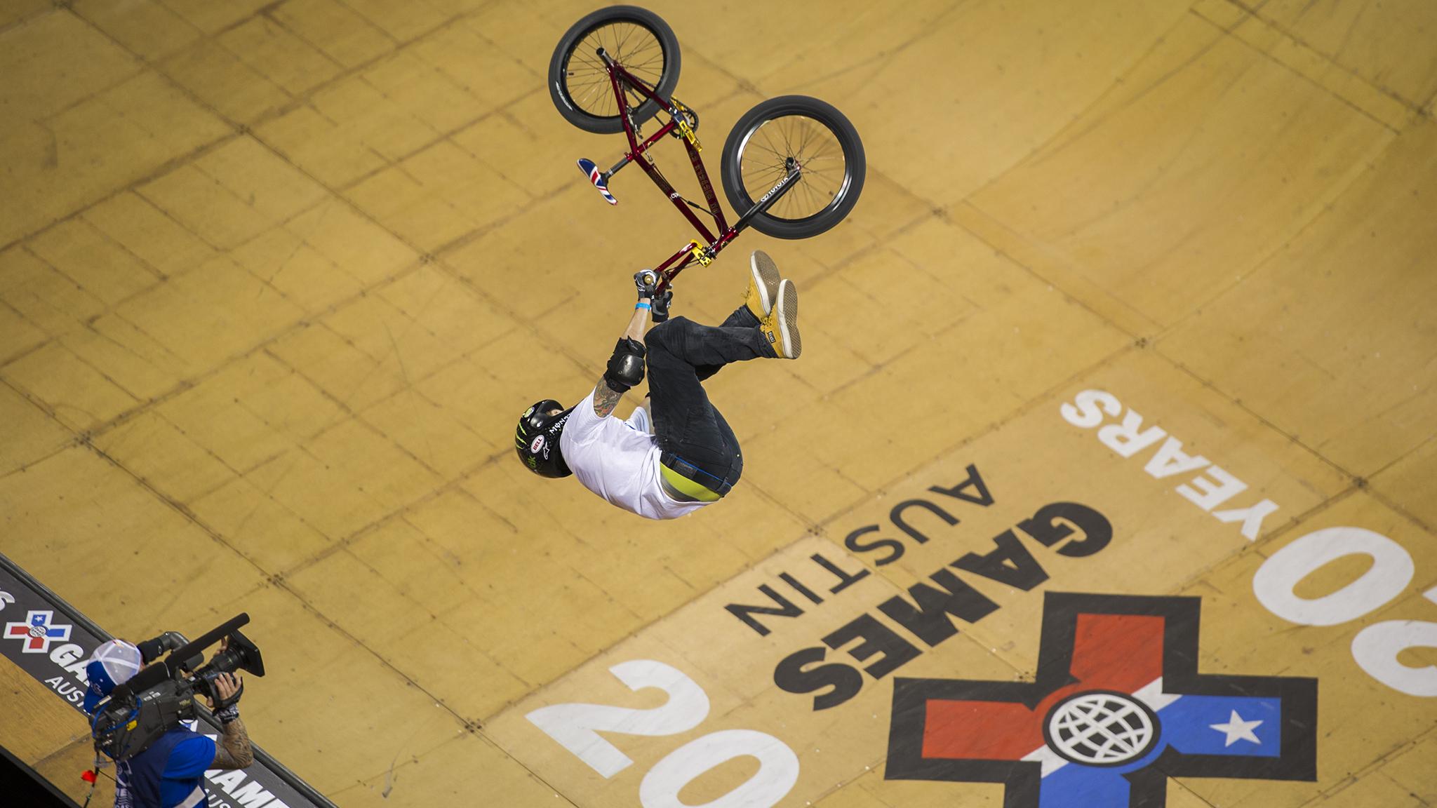 BMX Vert -- Jamie Bestwick
