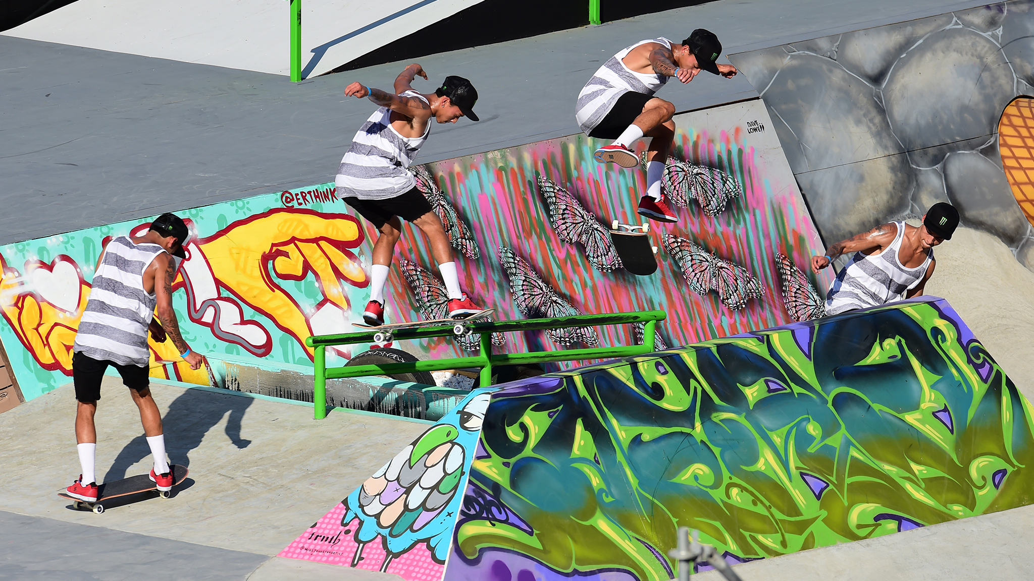 Skateboard Street -- Nyjah Huston