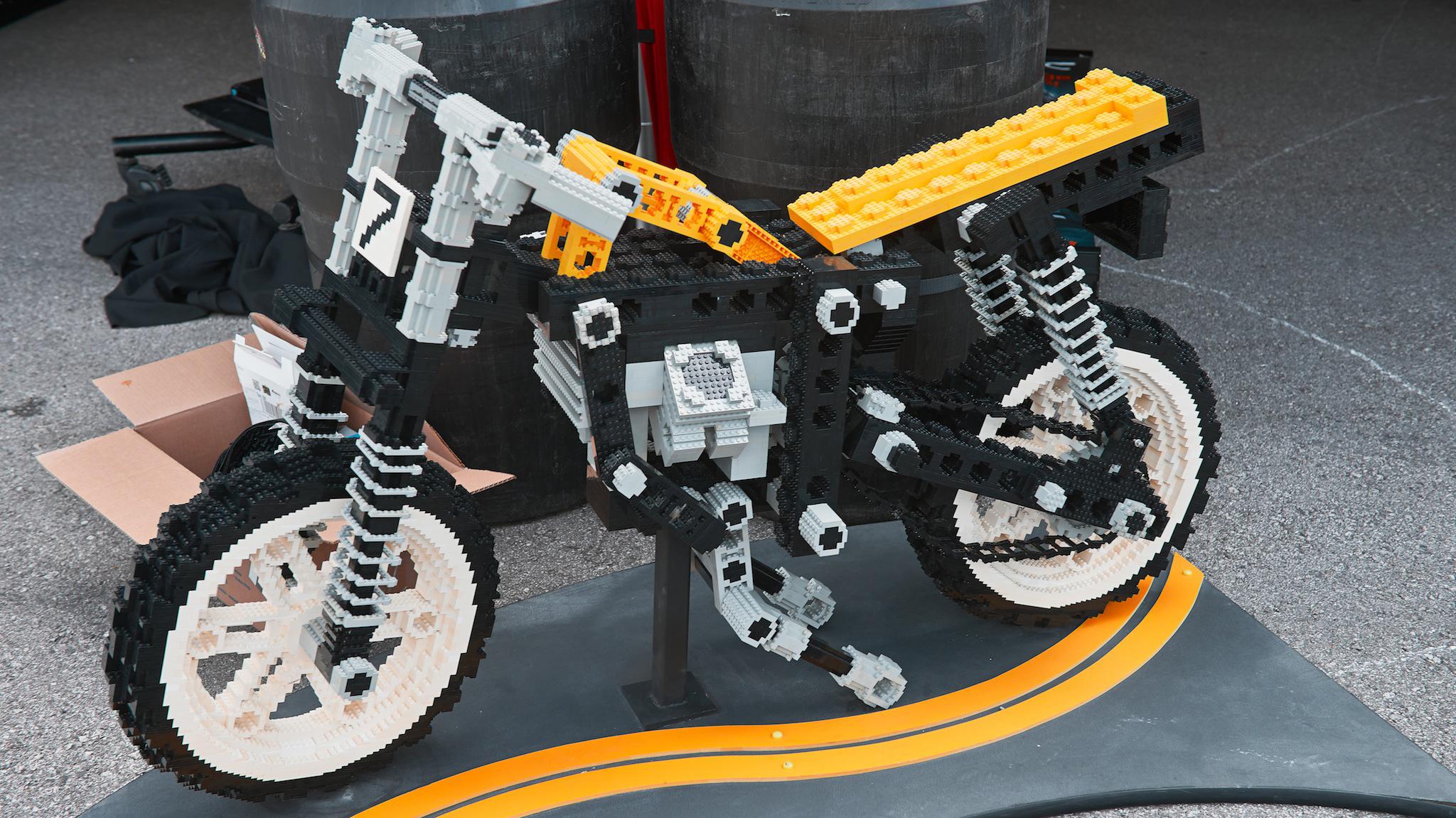 Lego motorcycle