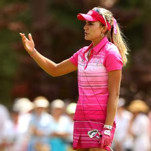 Lexi Thompson was chapped after a 74 Saturday, but she's still just five shots back.