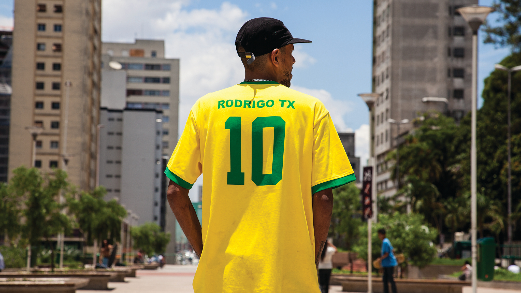 Rodrigo Tx for Team Brazil