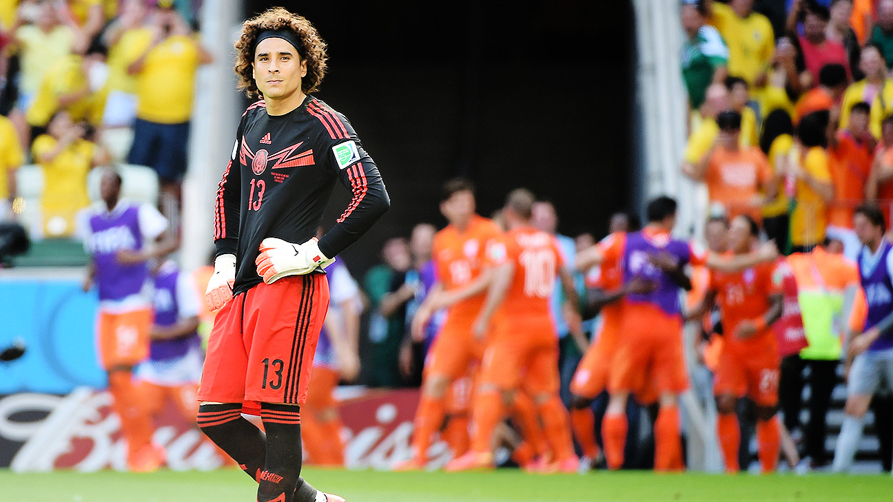 For 88 minutes on Sunday, goalkeeper Guillermo Ochoa had Mexico in control against the Netherlands.