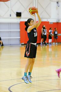 Natalie Chou averaged 17 points as a sophomore at Plano West.