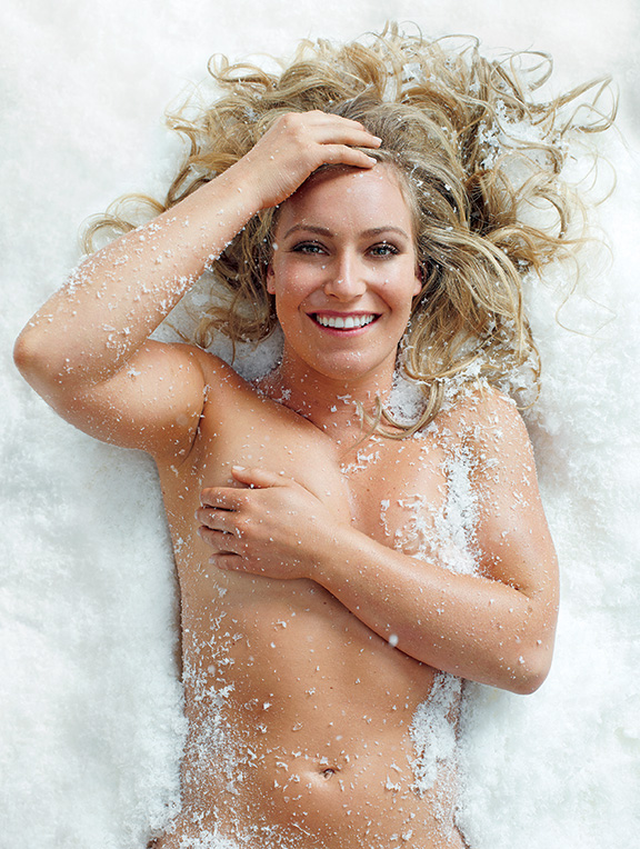 Snowboarder Jamie Anderson with nothing on - ESPN The ...